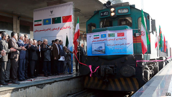 Iran's new continent-spanning trains-IBP