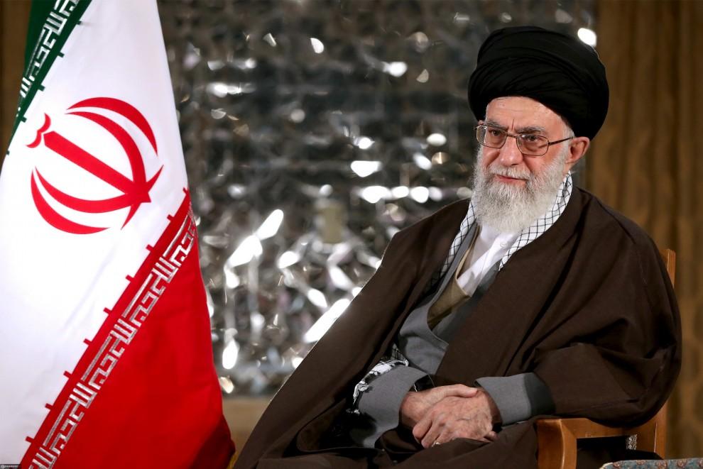 Iran's Supreme Leader Ayatollah Ali Khamenei poses before delivering a speech marking Iranian new year - IBP